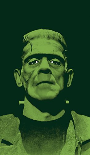 WOWindow Posters Frankenstein's Monster Scary Halloween Window Decoration 34.5x60 Backlit Poster by WOWindow Posters