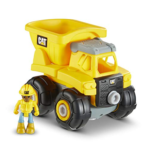 Cat Construction Build Your Own Junior Crew Dump Truck Building Toy