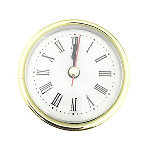 Inserte el reloj ligero mini movimiento de cuarzo suministra alta durabilidad llamativo oro