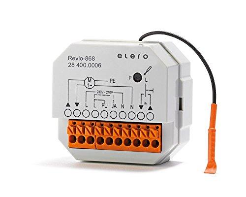 Elero Revio-868 Einbau-Funkempfänger für Rohr- und Jalousieantriebe Rohrantriebe für Markisen.