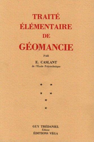 TRAITE ELEMENTAIRE GEOMANCIE