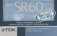 TDK カセットテープ SR 60分 SR-60K