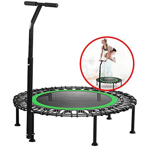 DYANG Trampoline,Mini Trampoline Fitness,Trampoline De Jardin,Trampoline Enfant,Trampoline Fitness Adulte,pour l'Intérieur/Exterieur,Green,40inch