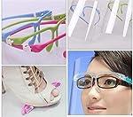 Set de 5 uds. Visera-pantalla facial, transparente, protección facial anti-salpicaduras reutilizable... #4