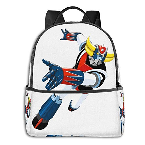 XCNGG Anime Grandizer Go! Classic Student School Bag School Cycling Leisure Travel Camping Outdoor Backpack