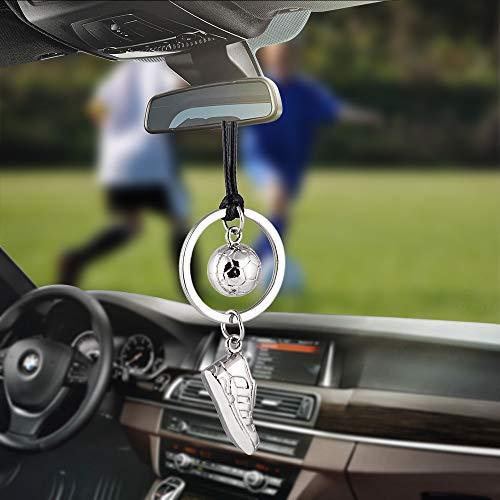 Auto Anhänger Automobil Dekoration Charme Fußball Fußball Schuhe Auto Interior Rückspiegel Hängen Ornamente Cool Auto Styling