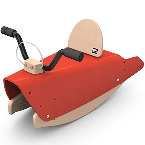 Chou Du Volant BMO RG Bascule Moto Rouge Wippe, rot