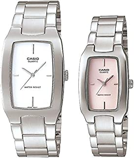 Casio His and Her pair watch MTP/LTP-1165A-7C/4C