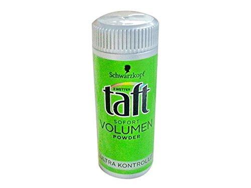 Schwarzkopf Taft Volumen Powder 10g (0.35 Oz): Hair styling volume powder by Taft Schwarzkopf