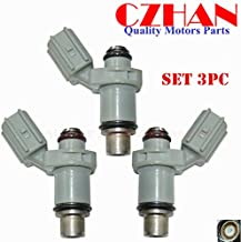 3pce CZHAN fuel injectors for NIB Yamaha outboard injector nozzle for HP 30HP 40HP F30 F40 6BG-13761-00-00,6BG-13761-00, 6BG137610000