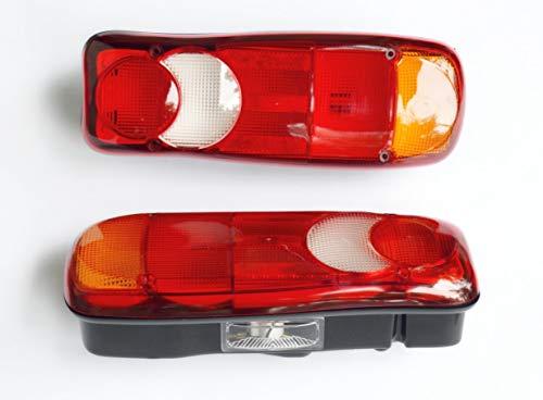 2 fanali posteriori 12 V/24 V per adattarsi AMP 1.5 BOXER DUCATO LF45 LF55 MASTER FE FL