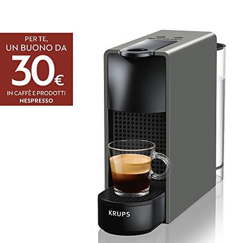 Nespresso Essenza Mini XN110B Macchina per il Caffè di Krups, Grigio