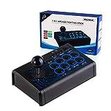 MIFO ゲームスティック PS4 PS3 Switch Xbox-ONE Xbox-360 PC Android 対応 USB 接続式 アーケードコントローラー TURBO機能付 有線コントローラー 格闘ゲーム eスポーツ