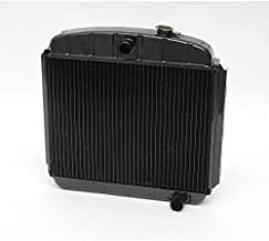 Eckler's Premier Quality Products 57154449 Chevy Desert Cooler Optima Radiator Copper Core For Cars With Manual Transmission V8 U.S. Radiator