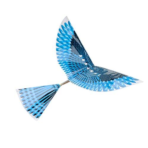 Colcolo Ornitóptero Modelo Pájaro águila en PVC Color Brillante Niños Juguete de Bricolaje