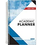 Dated Student Planner for High School of College: Dated August - July Dated for 2020-2021 (HS-03-C1 - Blue Cover)