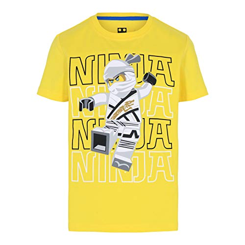 LEGO Ninjago T-Shirt Camiseta, 205, 122 cm para Niños