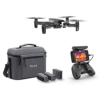 Parrot - Thermal Drone 4K - Anafi Thermal - 2 High Precision Cameras - Thermal Camera -14°F to 752°F + 4K HDR Camera - The Ultra-Compact Thermal Drone for all Professionals, PF728120
