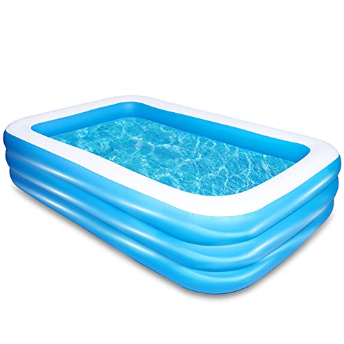 AsterOutdoor Inflatable Swimming Pool 103'x 69'x...