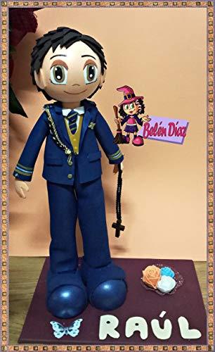 Fofucha comunión niño Almirante 35 cms
