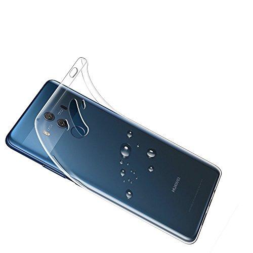 Gosento Huawei Mate 10 Pro Hülle TPU Case, Soft Flex Silikon Crystal Ultra Dünn Clear Schutzhülle Cover für Huawei Mate10 Pro (Transparent) EINWEG - 4