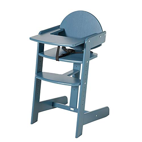 Geuther 2359 Filou Up Chaise haute en polyéthylène Bleu 10 kg