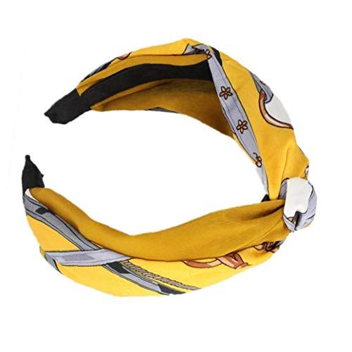 Noeud De 1pc Femmes Hairband Élastique Turban Bandeau Sport Head Wrap Head Wear Accessoires