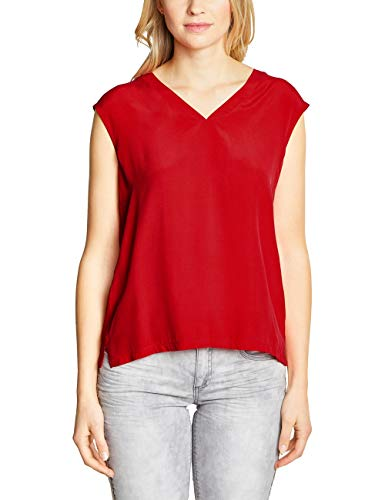 Street One Damen 313404 Top, Rot (Rot (Vivid red), 38