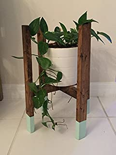 AD Planet Rustfree Planter Stand for Garden, Set of 6 Planter Stands