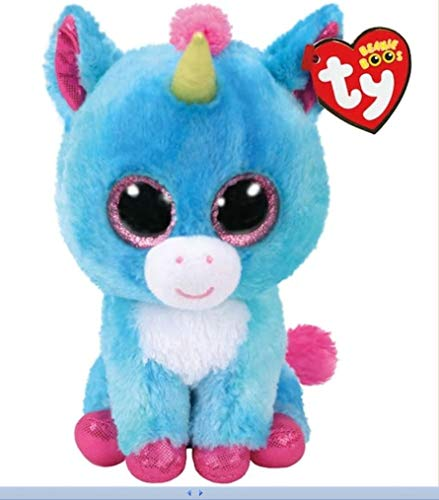 Ty Stitches The Unicorn 6' Store 2018 Exclusive Beanie Boo-Rare-NWT