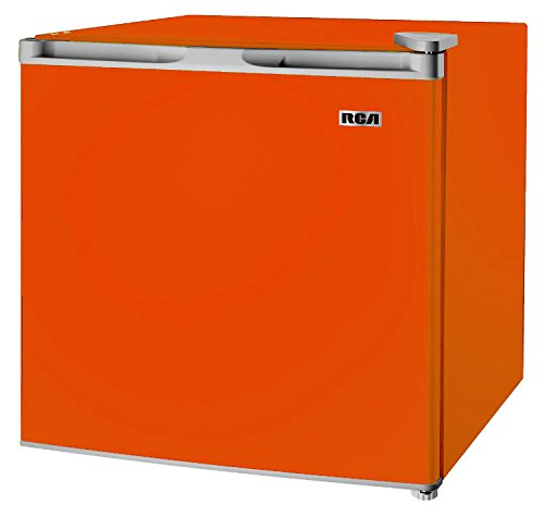 RCA RFR160-Orange Compact Fridge, 1.6 Cubic Feet, Orange