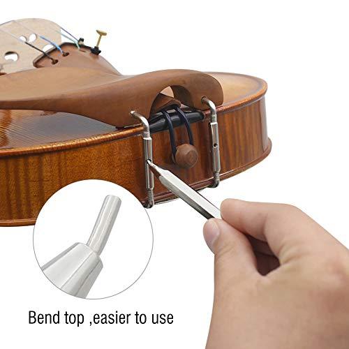 Viool schroevendraaier, Mini viool kin rust chinrest schroef moersleutel schacht schroevendraaier viool reparatie gereedschap