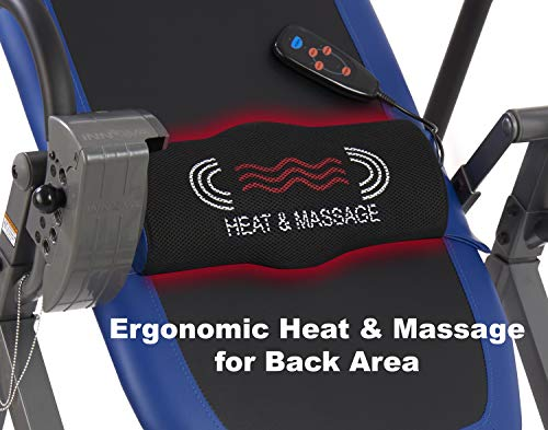 Product Image 9: Innova Health and Fitness ITM4800 Advanced Heat and Massage Therapeutic Inversion Table