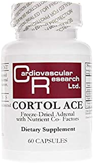 Cardiovascular Research Cortol Ace, White, 60 Count