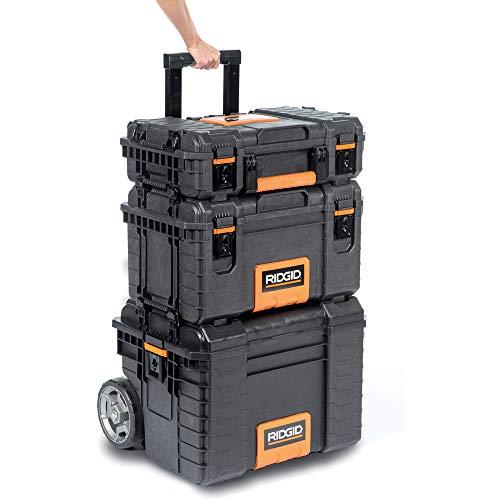 RIDGID 54358 Sistema de almacenamiento de herramientas profesional, Organizador para almacenamiento de múltiples herramientas