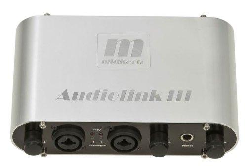 Miditech MIT-00136 Midi-Interface Audiolink III und Sampl. Silver 11