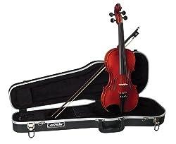 cheap Becker, 4-string violin, satin red brown (175F)