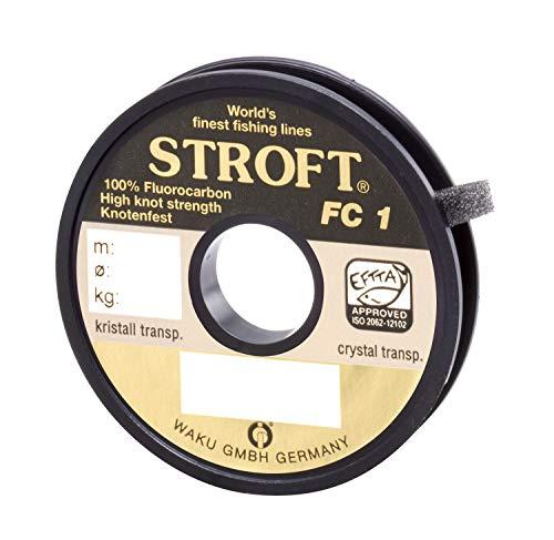 WAKU Schnur STROFT FC1 Fluorocarbon 50m 0,330mm-8,7kg