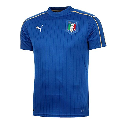 PUMA Herren Trikot FIGC Italia Home Shirt Replica, Team Power Blue-White, XL, 748933 01