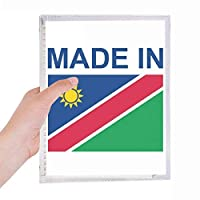 ナミビアカントリーラブに 硬質プラスチックルーズリーフノートノート