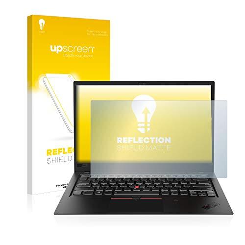 upscreen Entspiegelungs-Schutzfolie kompatibel mit Lenovo ThinkPad X1 Carbon (6. Generation) – Anti-Reflex Bildschirmschutz-Folie Matt