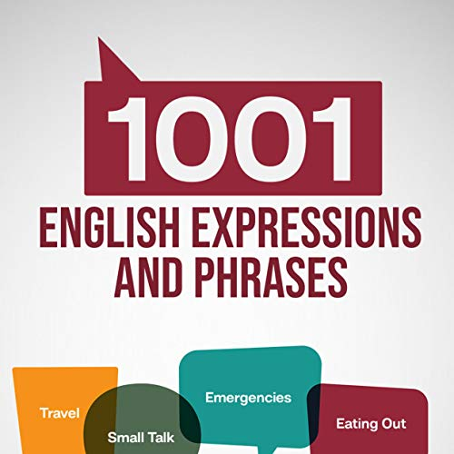 Couverture de 1001 English Expressions and Phrases