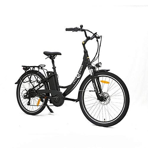 "Levin dental Bicicleta eléctrica Urban 26"", 25km/h (Negro)"