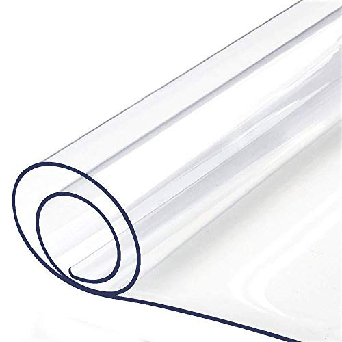 EVIN Tischdecke PVC transparentes Aussehen wasserdicht, ölbeständig, pflegeleicht Kunststofftischdecke 40 * 60cm in verschiedenen Größen erhältlich