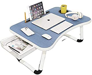 S.A.C Laptop Table for Home & Office,Portable Classic Bed Desk for Working,Perfect Bed Table with Notebook Tray,Portable d...