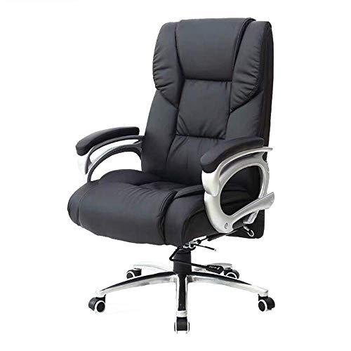 ZJN-JN-E-Sports Presidente Silla giratoria de Oficina Estudio del Juego Respaldo Alto Asiento de Trabajo Gerente de Cuero Silla ergonómica sillas de Altura Ajustable Silla de Oficina