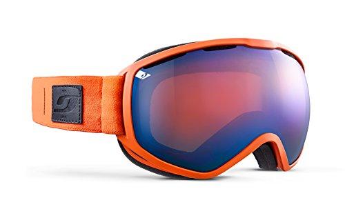 Julbo Atlas Masque de Ski Homme, Orange/Bleu