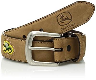 John Deere Boys' Little Childrens Tractor Belt, CRAZYHORSE TAN, 24