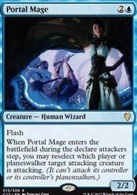 Magic The Gathering – Portal Mage – Maga Dei Portali – Commander 2017