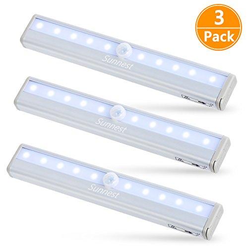 Sunnest Motion Sensor 3 pack LED lights
